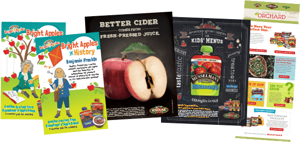 Marriner and Knouse Foods Celebrate 10 Years of Marketing Partnership